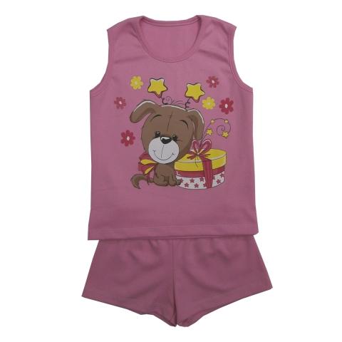 Пижама Модель 451 розовая