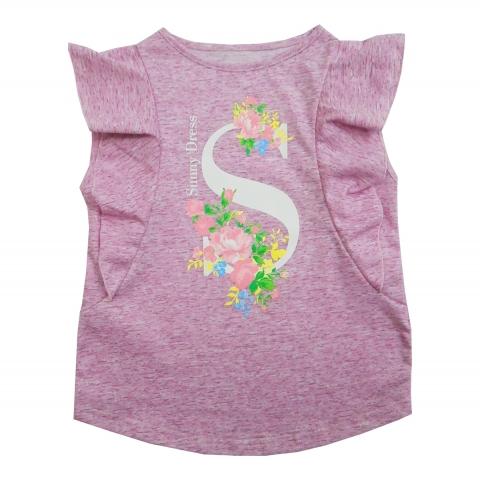 Блузка Модель 453 розовая