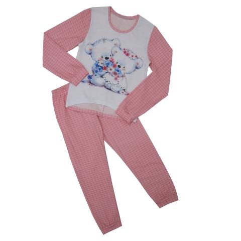 Пижама Модель 481 розовая