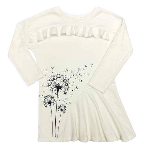 Платье Модель 493 молочное