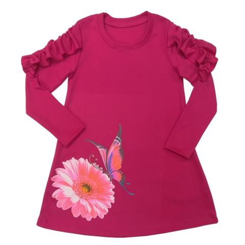 Платье Модель 498 фуксия
