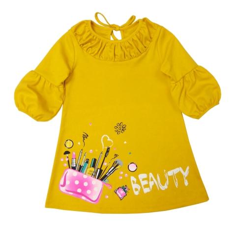 Платье Модель 610 шафран