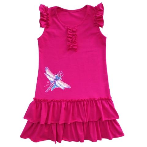 Платье Модель 622 фуксия
