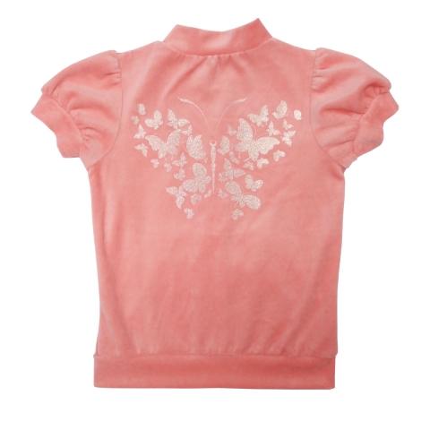 Костюм Модель 623 персиковый блузка