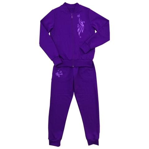 Костюм Модель 661 фиолетовый