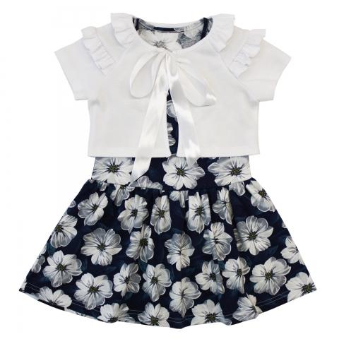 Платье Модель 695 белое
