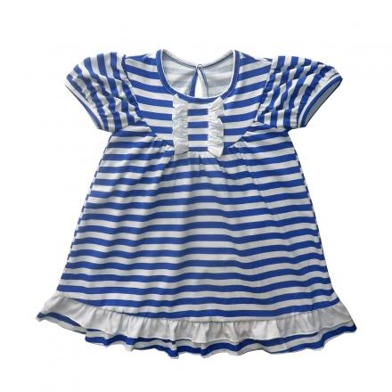 Платье Модель 065 новинка синее