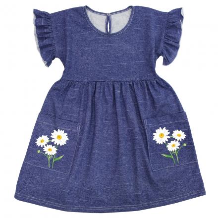 Платье Модель 1089 джинса