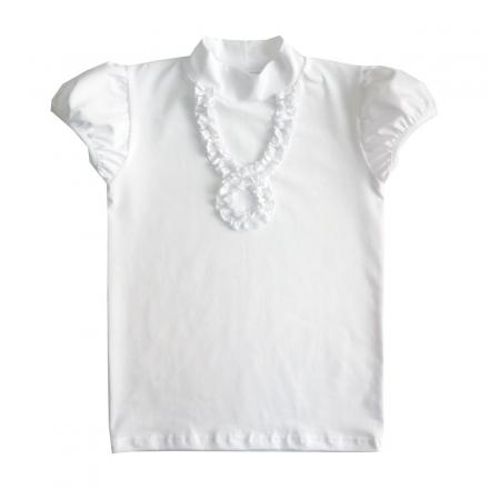 Блузка Модель 208А белая новинка