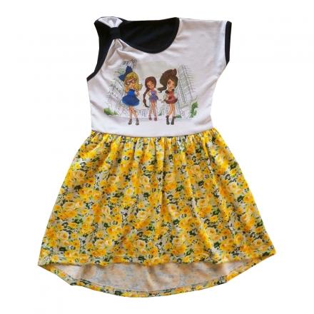 Платье Модель 289 желтое