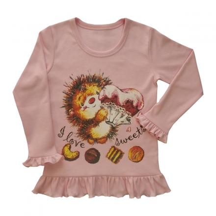 Блузка Модель 292 розовая