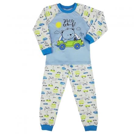 Пижама Модель 329 голубая