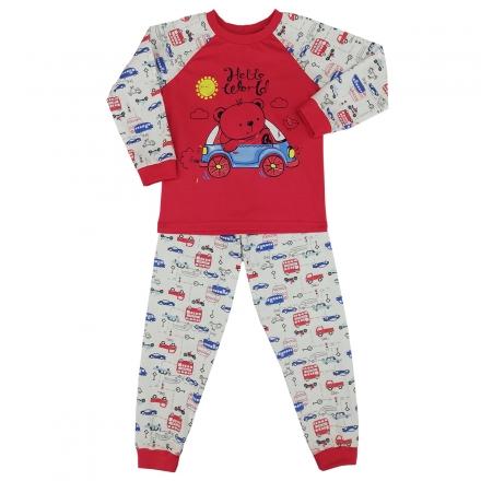 Пижама Модель 329 красная