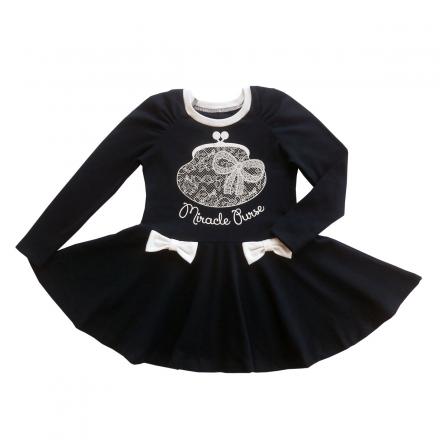 Платье Модель 402 темно-синий