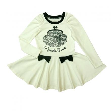 Платье Модель 402 белый