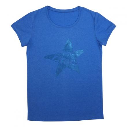 Блузка Модель 472 голубой