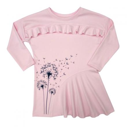Платье Модель 493 розовое