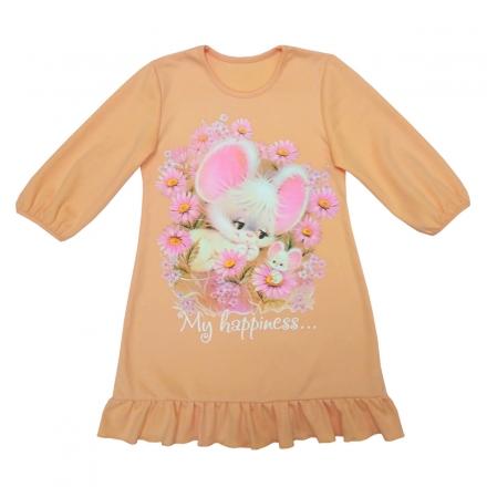 Сорочка Модель 608 персиковая