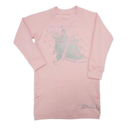 Платье Модель 621 розовое