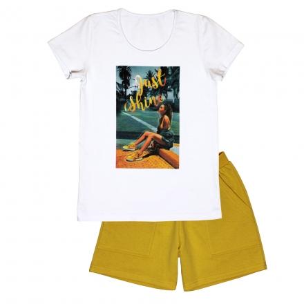 Блузка Модель 890 с шортами